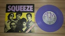 "Squeeze - Up the Junction PURPLE Record 7"" Single Vinyl New Wave 1979"