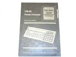Radio Shack TRS-80 Pocket Computer User Manual~Basic Programming