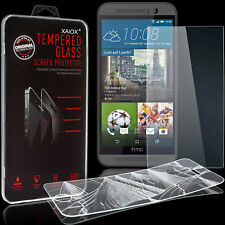 HTC One M9 Panzerglasfolie aus Glas Schutzglas 9H Schutzfolie Echt Glas Folie