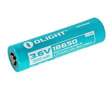 Olight Protected 3600 mAh 3.6V Rechargeable 18650 Battery made for S30R II III