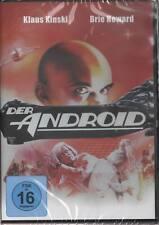 Der Android Klaus Kinski Brie Howard DVD NEU Science Fiction Thriller