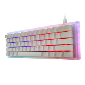 GamaKay K61 61 Keys Mechanical Gaming Keyboard Hot Swappable Type-C 3.1 Wired
