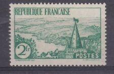 France année 1935 Rivière Bretonne  N° 301** 2 f vert lot 1245
