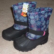 GIRLS SIZE 2 INSULATED -5 Degrees WINTER SNOW BOOTS - BRAND NEW!
