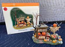 Dept 56 Halloween Village Accessory Halloween Pumpkin Stand #56.52956 Nib