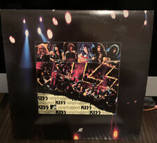 KISS MTV UNPLUGGED LIVE 1995 Laserdisc VEry Good Condition