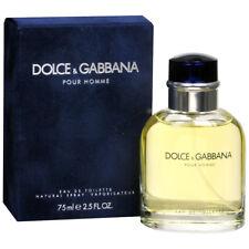 Dolce & Gabbana POUR HOMME Eau de TOILETTE  MEN 2.5 oz / 75ml