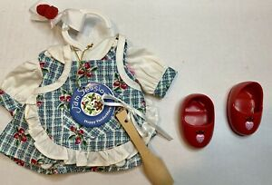 Hoppy VanderHare JAM SESSION Bunny Rabbit Clothes Dress & Shoes Strawberry Ret.