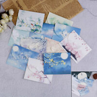 10pcs Mini Paper Ancient Envelope Vintage Home Office Stationery Craft Gift ZB
