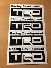 TRD Aufkleber Set Toyota Racing Rennsport V8 V6 Tuning Supra Japan Scene Fast