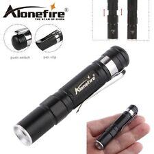Torcia ALONEFIRE MN23 Small LED CREE XPE-R3 da 150 Lumens ZOOM Telescopico 100 m