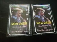 KENNY ROGERS His Greatest Hits & Finest Performance Readers Digest Cassette 2 Tp
