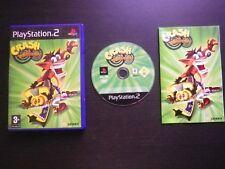 CRASH TWINSANITY : JEU Sony PLAYSTATION 2 PS2 (Bandicoot COMPLET envoi suivi)