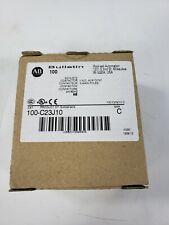 Brand New Allen Bradley 100-C23J10 Ser C Contactor, 24 VAC, 3-Pole, 23A