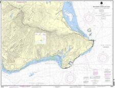 NOAA Chart Southeast Coast of Oahu Waimanalo Bay to Diamond Head