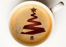 Christmas Tree 25 Coffee Cup,Face Painting confectionery STENCIL CHRS025