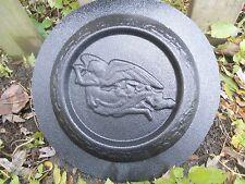 concrete plaster mold floating angel mini birdbath plastic mould