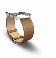 Fitbit Blaze Accessory Band, Leather, Color Camel Size Large