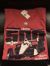 indy 500 3xl  Red T Shirt