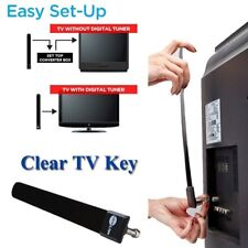 Clear TV Key HDTV FREE TVDigital Indoor Antenna Ditch Cable As Seen on TV