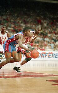 Michael Jordan vs Joe Dumars - 35mm Basketball Slide/Negative