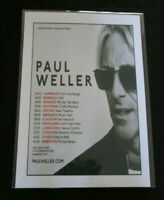 PAUL WELLER : LIVE UK TOUR  :  A4  REPO POSTER