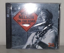 2 CD WILLIE NELSON - ON THE ROAD AGAIN - NUOVO NEW