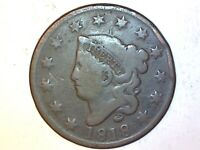 1818 Large Cent   Very Nice Coin for Collection 67
