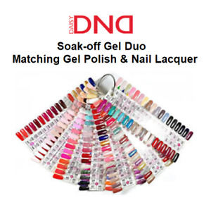 DND Daisy Soak Off Gel-Polish Duo .5oz LED/UV Matching Color (#400 - #600)