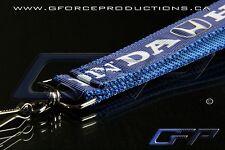 BLUE Premium Honda Wrist/Palm Lanyard JDM Civic S2000 Prelude Integra CRX RSX