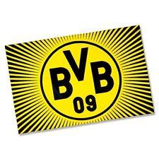 "BVB Fahne Borussia Dortmund ""SONNE"", 100 x 150 cm NEU"