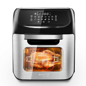 12L Heißluftfritteuse Friteuse Heißluft Fritteuse Ofen Pommes Airfryer LCD 1800W