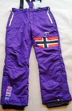 Geo Norway Damen Skihose Gr. L lila WONDERFULL Snowboardhose Winter Hose NEU(28)