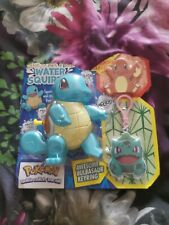 Squirtle Water Squirter With Bulbasaur Keyring And Charmander Badge