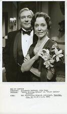 ELIZABETH HUBBARD JOHN KANE FIRST LADIES DIARIES ORIGINAL 1976 NBC TV PHOTO