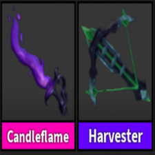 MM2-  HALLOWEEN CANDLEFLAME + HARVESTER (NEW 2021) HIPER  CHEAP I FAST DELIVERY