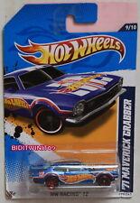 HOT WHEELS 2012 HW RACING '71 MAVERICK GRABBER WHEELS ERROR W+