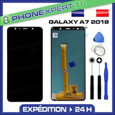 VITRE TACTILE + ECRAN LCD ORIGINAL SAMSUNG GALAXY A7 2018 A750 + OUTILS