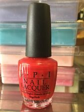 Opi Nail Polish Lacquer Nl M16 The Color Of Minnie 0.5 oz Discontinued Red Htf