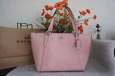 NWT Coach F57526 Crossgrain Leather AVA Tote Shopper Bag Purse Blush 2 $350