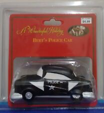 It's a Wonderful Life Christmas Village Bert's Police Car Holiday In Package Box