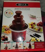 Bella Treats Series  Fondue Fountain Chocolate Cheese Milkshake