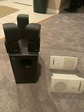 New listing Bose Acoustimass 7 Home Theater - Subwoofer W/3 Double Cube Speakers & More