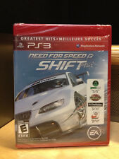PS3 NEED FOR SPEED SHIFT Playstation3 game in original sealed package new