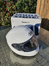 Shoei Qwest Medium Helmet 57-58cm VGC Gloss White