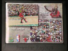 MICHAEL JORDAN  1998 UPPER DECK  premier replays  THE SHOT 3D  CHICAGO BULLS
