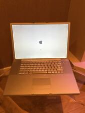 "APPLE POWER 64 5.5 Book MAC OSX Laptop 2GB DDR SDRAM 17"" Power PC 64 (1.1)"