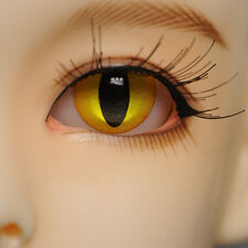 Dollmore BJD Eyes Life Like Acrylic 8mm Special Colors - Cat Eye-Yellow G8