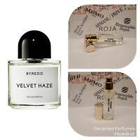 Byredo Velvet Haze - 17ml/0.57oz Extract base decante Eau de Parfum Spray