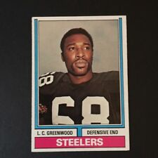 1974 Topps L.C. GREENWOOD #496  Pittsburgh Steelers